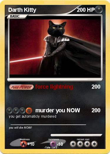 Pokemon Darth Kitty