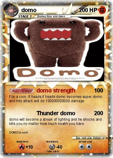 Pokemon domo