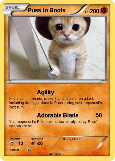 Pokemon Puss in Boots