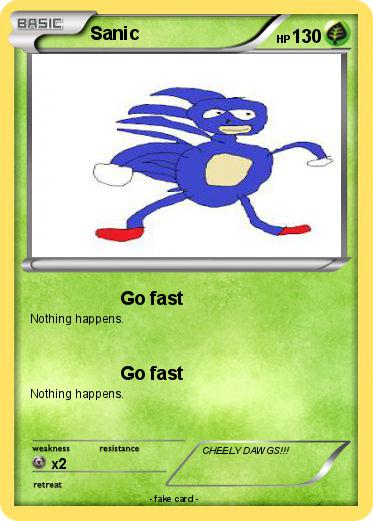 Pokemon Sanic