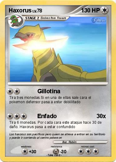 Pokemon Haxorus