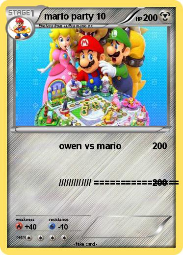 Pokemon mario party 10