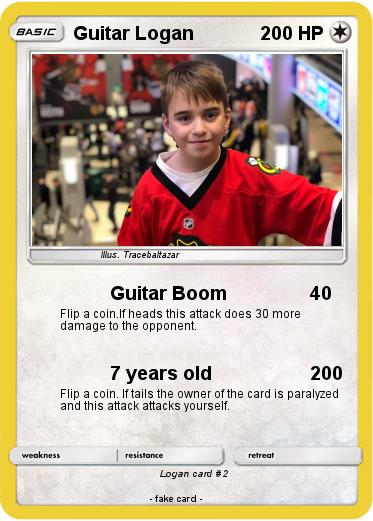 Pokemon Guitar Logan