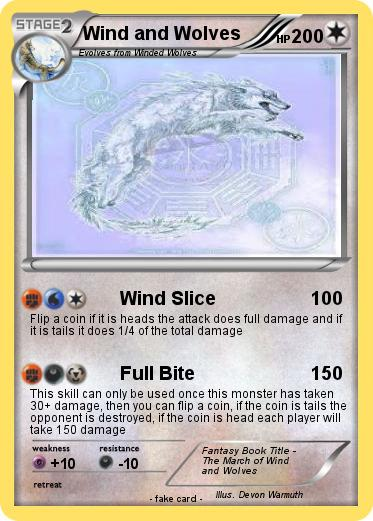Pokemon Wind and Wolves