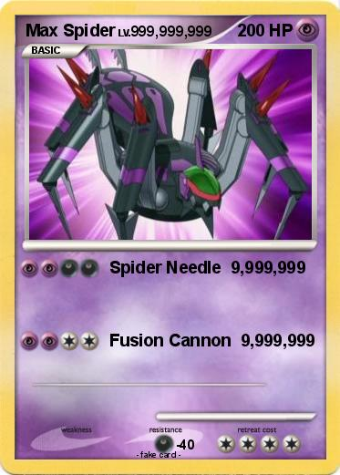 Pokemon Max Spider