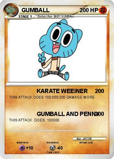 Pokemon GUMBALL