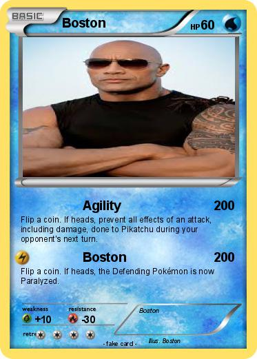 Pokemon Boston