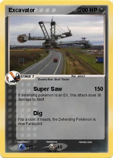 Pokemon Excavator