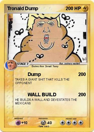 Pokemon Tronald Dump