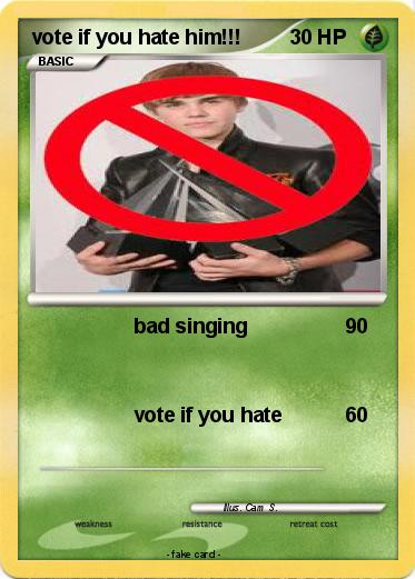 Pokemon vote if you hate him!!!
