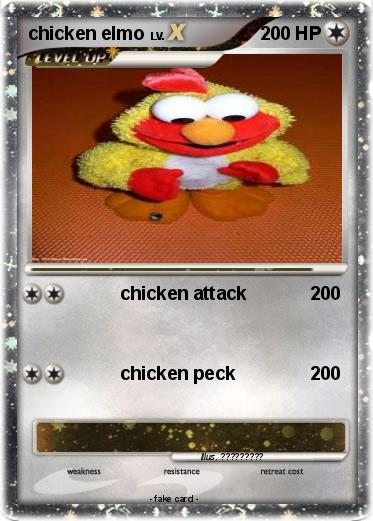 Pokemon chicken elmo