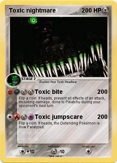 Pokemon Toxic nightmare