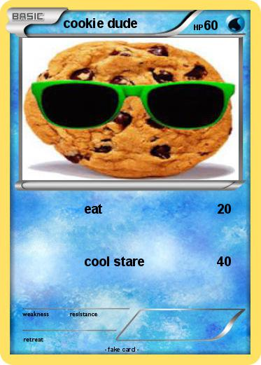 Pokemon cookie dude