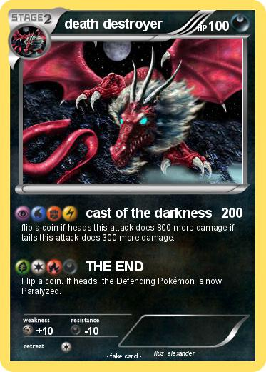 Pokemon death destroyer