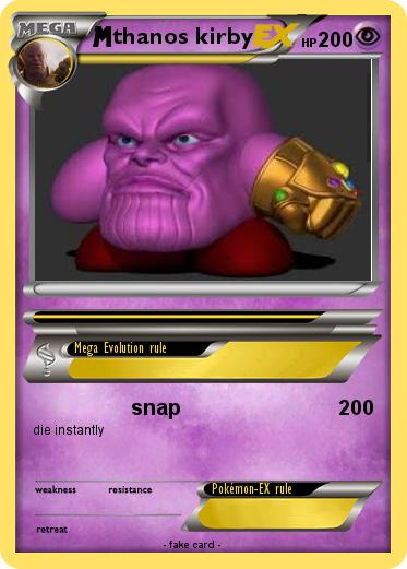 Pokemon thanos kirby