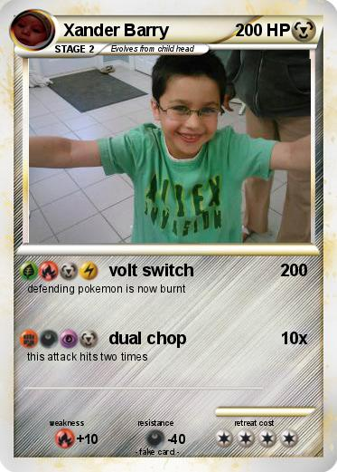Pokemon Xander Barry