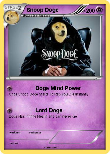 Pokemon Snoop Doge