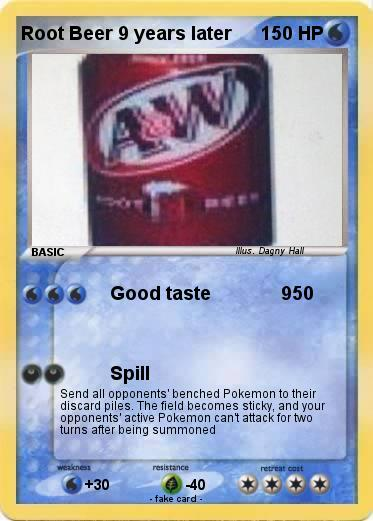 Pokemon Root Beer 9 years later