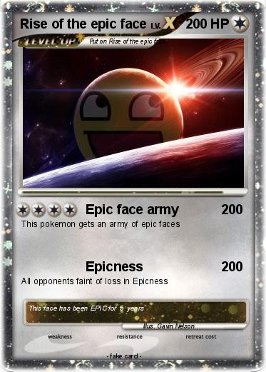 Pokemon Rise of the epic face