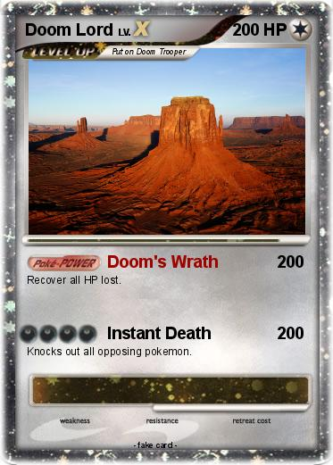 Pokemon Doom Lord