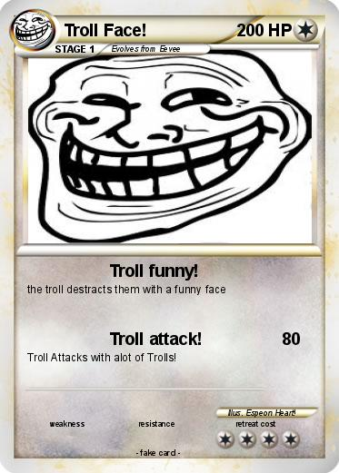Pokemon Troll Face!