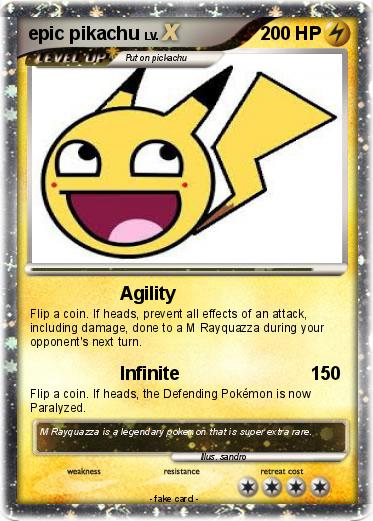 Pokemon epic pikachu