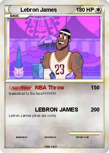 Pokemon Lebron James