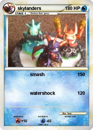 Pokemon skylanders