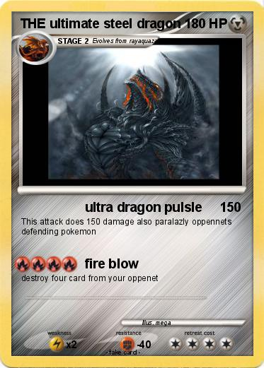 Pokemon THE ultimate steel dragon