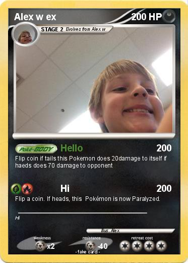 Pokemon Alex w ex