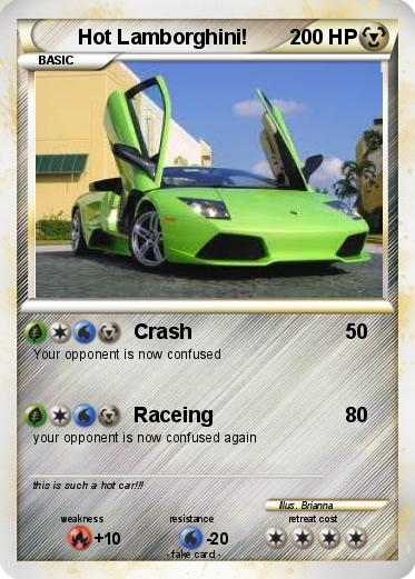 Pokemon Hot Lamborghini!