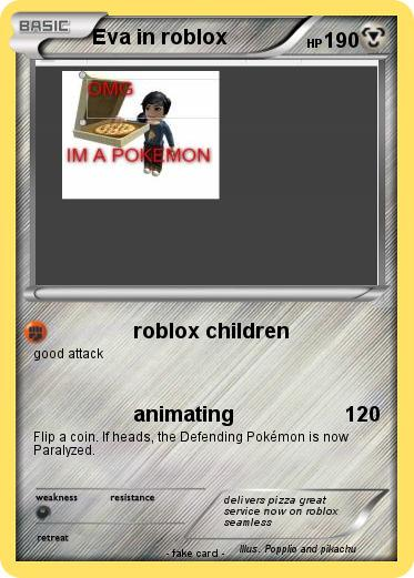 Pokemon Eva in roblox