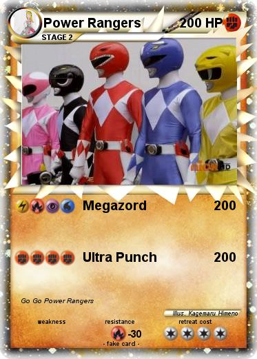 Pokemon Power Rangers