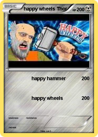 Pokemon happy wheels Thor