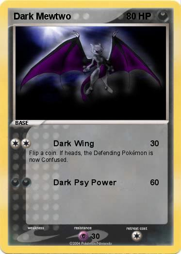 Pokemon Dark Mewtwo