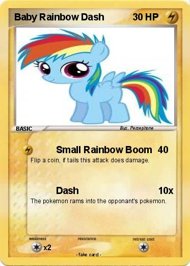 Pokemon Baby Rainbow Dash