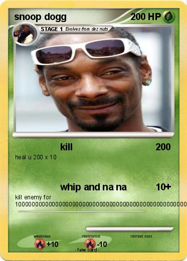 Pokemon snoop dogg