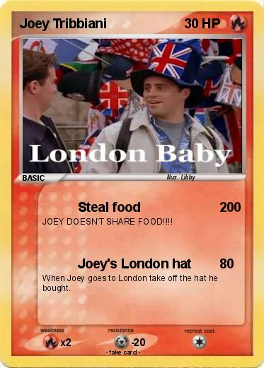 Pokemon Joey Tribbiani
