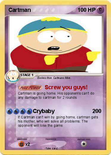 Pokemon Cartman