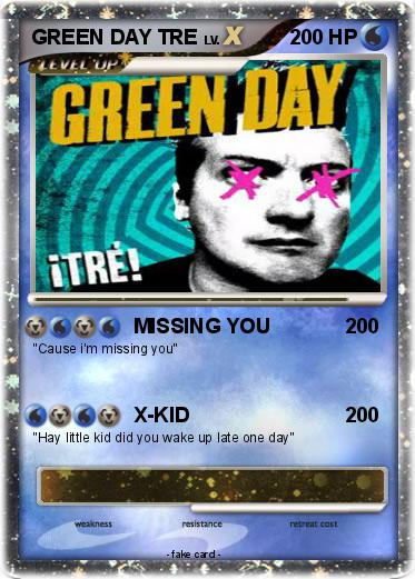 Pokemon GREEN DAY TRE