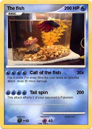 Pokemon The fish