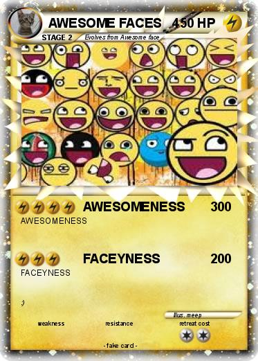 Pokemon AWESOME FACES   4
