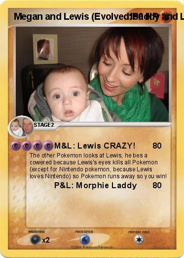 Pokemon Megan and Lewis (Evolved:Paddy and Lewis