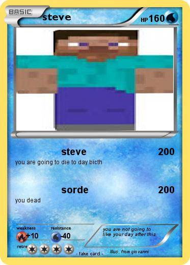 Pokemon steve