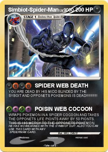 Pokemon Simbiot-Spider-Man