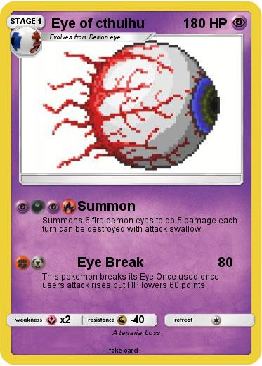 Pokemon Eye of cthulhu