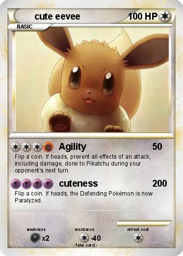Pokemon cute eevee