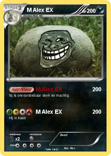 Pokemon M Alex EX