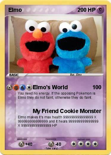 Pokemon Elmo