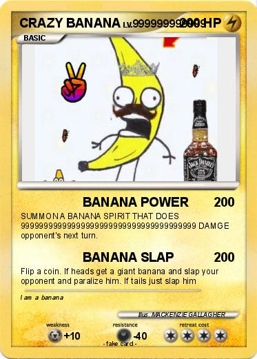Pokemon CRAZY BANANA